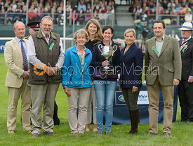 The Soul Syndicate during prize giving, Land Rover Burghley Horse Trials 2017