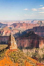 Point Imperial at sunset, Grand Canyon, USA