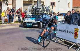 The Cyclist Lopez garcia David- Paris Nice 2013 Prologue in Houilles
