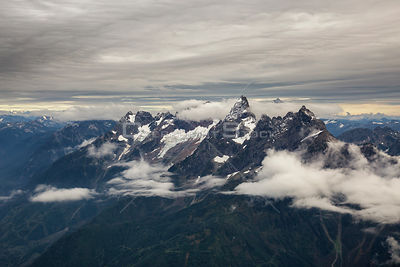 Rocky Mountain Peaks Near Chilliwack BC Canada