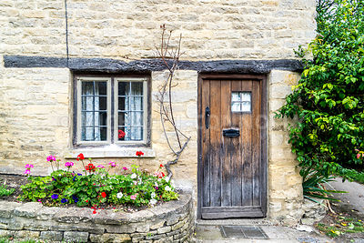 Door, Arlington Row- Bibury, England
