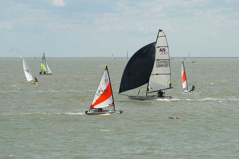 Brightlingsea Pyefleet Week dinghies pictures