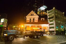 Moving the Fowler House 8/3-4/2015 photos