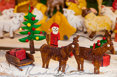 Christmas Ginger Bread Scene