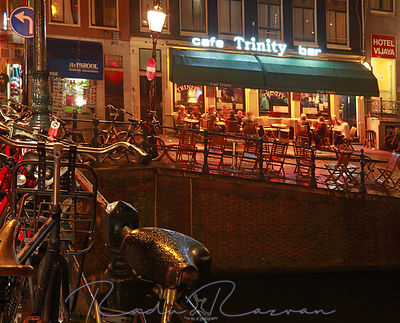Amsterdam- night scene