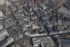 Liverpool aerial photograph of Fenwick Street and Castle Street and the surrounding areas