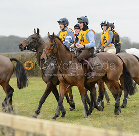 The Melton Hunt Club Ride 2017