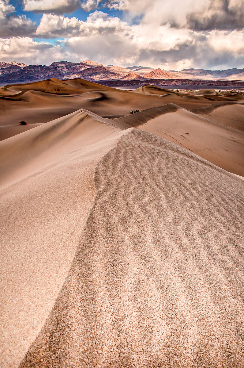 Dunefield in Death Valley National Park, California