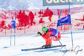 Dominik Paris in the Super G during the 2015 FIS World Cup Final