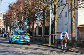 The Cyclist Grivko Andriy- Paris Nice 2013 Prologue in Houilles