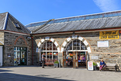 The Market Hall, Guildhall, Cardigan