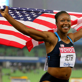 Carmelita JETER (USA) photos