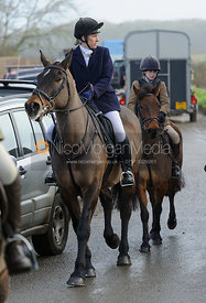Sarah Ludiman at the meet in Morborne, 23/1