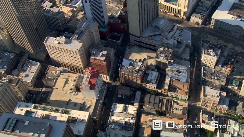 Tight orbit of downtown New Orleans.