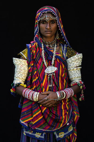 Portrait of a Mir Woman