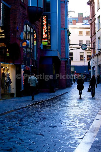 The new Cavern Club in Mathew Street Liverpool