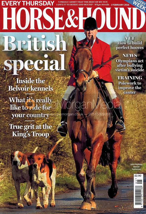 Horse & Hound front cover, February 2018