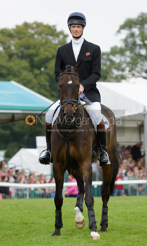 WIlliam Fox-Pitt and BAY MY HERO - show jumping phase, Burghley Horse Trials 2014.