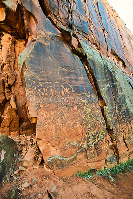 Petroglyphs- V Bar V Heritage Site, Arizona