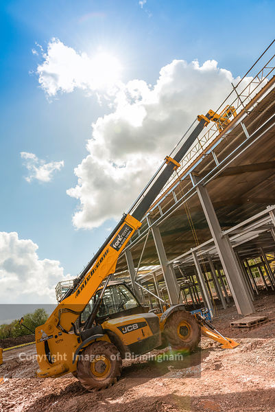 Construction of offices, Telford, Shropshire