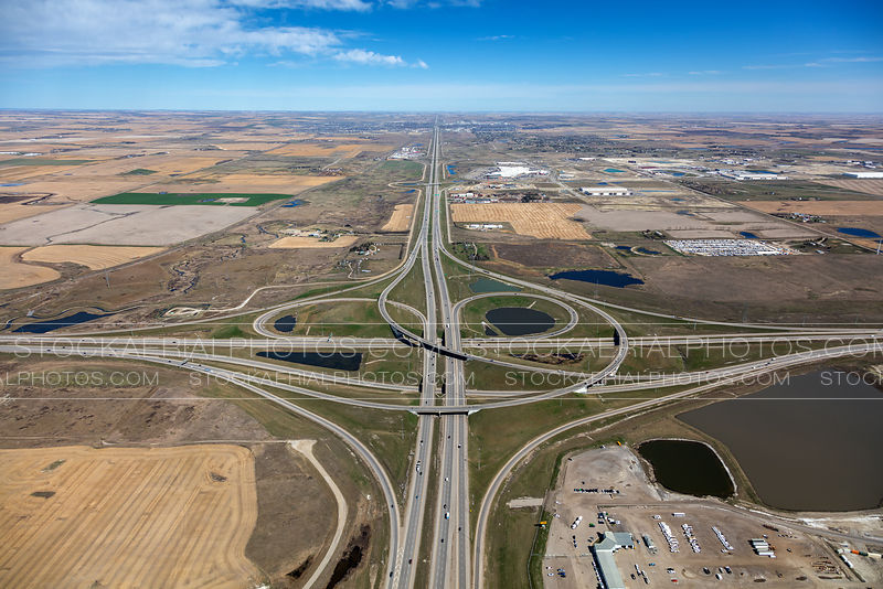 Stoney Trail at Deerfoot Trail Interchange
