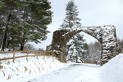The Arch in winter