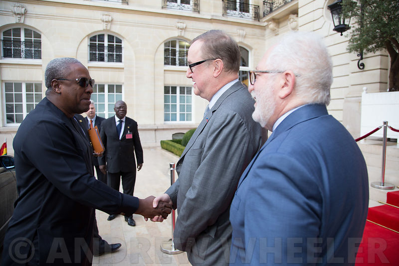 Official visit of John Dramani Mahama, President of the Republic of Ghana to the OECD