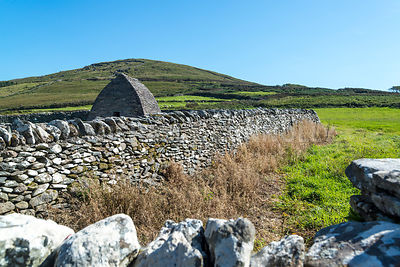 Gallarus Oratory (Horizontal)- Near Smerwyck Harbor, Dingle Peninsula, Ireland