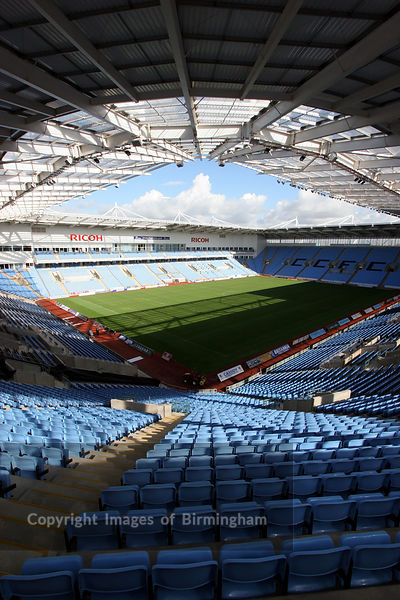 Coventry Ricoh Areana, home of Coventry Football Club