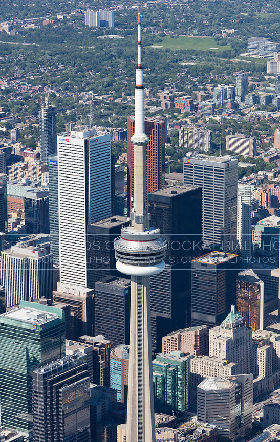 CN Tower and Financial District, Toronto
