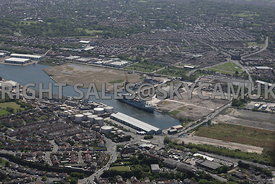 Wirral Waters Enterprise Zone Poulton and Wallasey Bridge Road and North Birkenhead and Disused Docklands