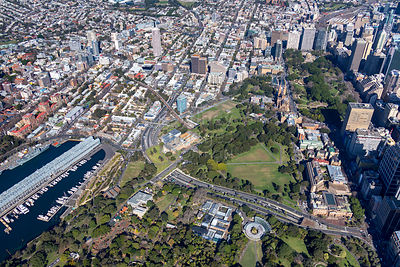 The Domain and Woolloomooloo