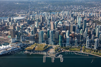 Vancouver Convention Centre and Downtown Vancouver