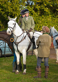 The Cottesmore Hunt at Barleythorpe.