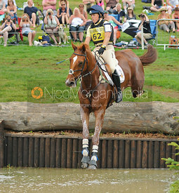 REDESIGNED and Pippa Funnell, Bramham Horse Trials, 2010