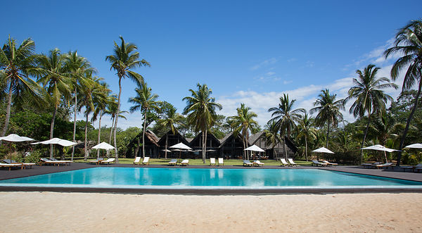 Anjajavy swimming pool... It's a hard life!