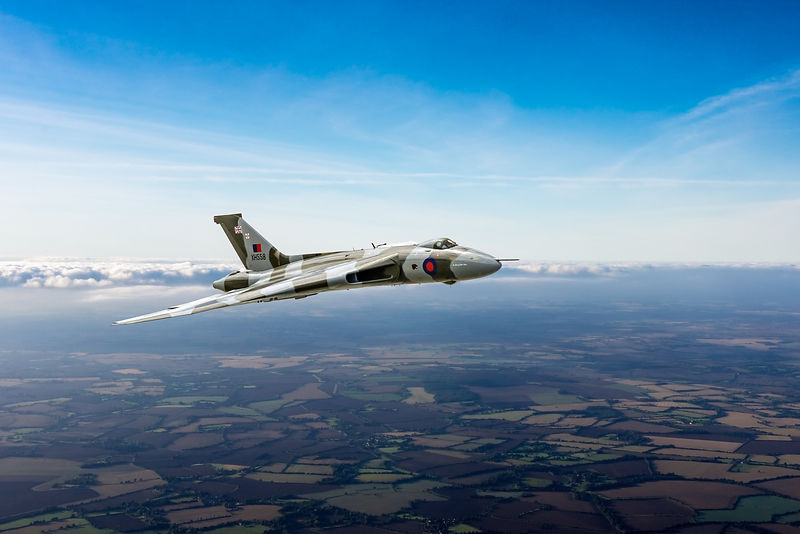 Vulcan in flight 2