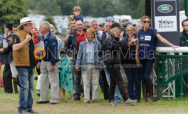 CLIFTON PROMISE's owners Frances Stead and Russell Hall - show jumping phase, Burghley Horse Trials 2013.