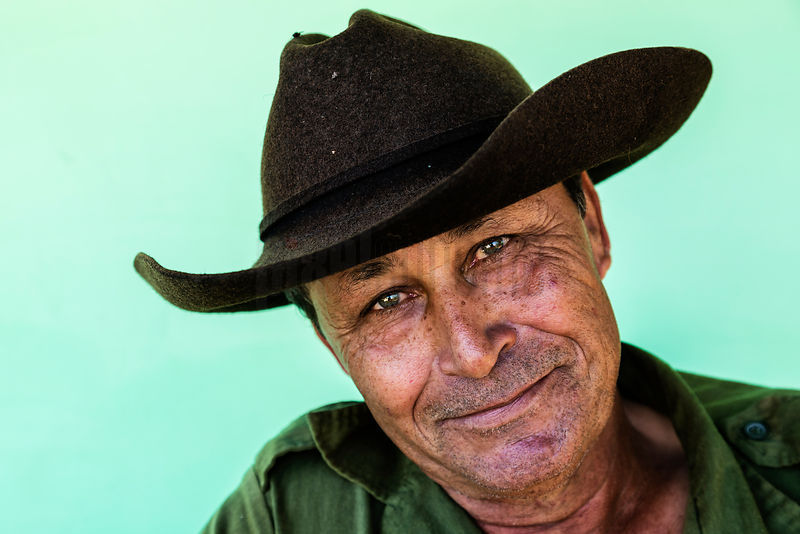 Portrait of a Tobacco Farmer