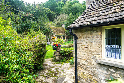 Cottage Garden, Arlington Row- Bibury, England