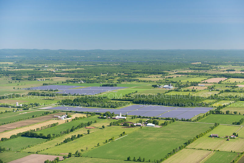 Solar Power Plant in Rural Area