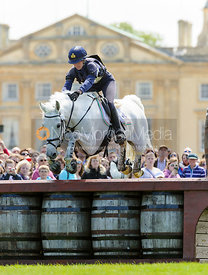 Vittoria Panizzon and BOROUGH PENNYZ - Cross Country - Mitsubishi Motors Badminton Horse Trials 2013.