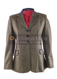 Stock image - Equestrian showing jacket on white background