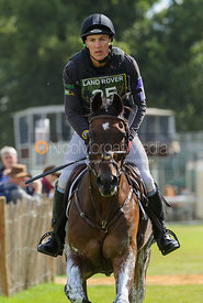 - cross country phase,  Land Rover Burghley Horse Trials, 7th September 2013.