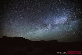 Milky way in the sky, Grand Canyon