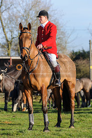 David Bellamy MFH - Belvoir Hunt at Grange Farm, Scalford 8/12