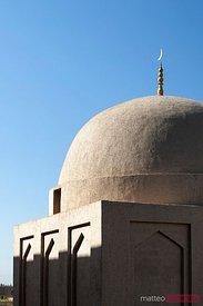 Dome of emin minaret, Turpan, Xinjiang, China