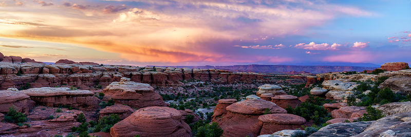Canyonlands Sunset Panorama
