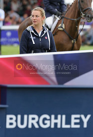 Anke Hoyer - Burghley Horse Trials 2013.