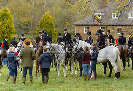 at the meet - Cottesmore Hunt Opening Meet, 24/10/2017